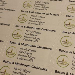 BACON AND MUSHROOM CARBONARA