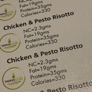 CHICKEN AND PESTO RISOTTO
