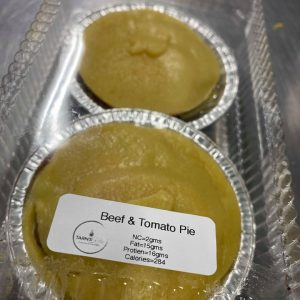 BEEF AND TOMATO PIES