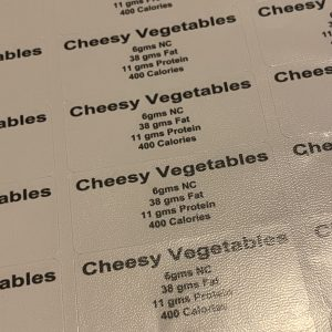 CHEESEY VEGES