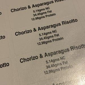 CHORIZO AND ASPARAGUS RISOTTO