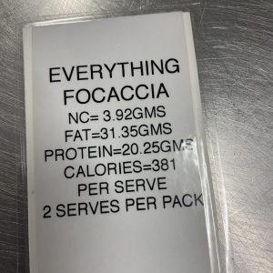Everything Focaccia