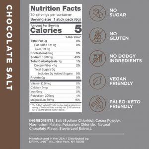 CHOCOLATE SALT 30 PACK